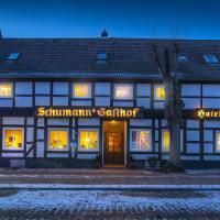 Schumann`s Hotel garni, отель в городе Рендсбург
