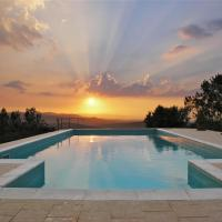 Casa del Tramonto, Tuscany Holiday Apartments, hotell i Civitella in Val di Chiana