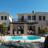 2 bedroom Villa Kornos with private pool and golf views, Aphrodite Hills Resort, hotel in Kouklia