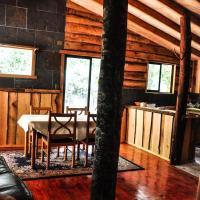Cabaña Rustica Patagonia Chilena, hotel en Coñaripe