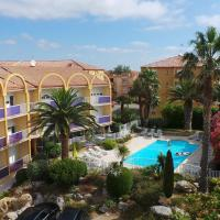 Hotel Albizzia, hotel in Valras-Plage