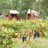 Fergies Hill Spa Cottage @ Granite Ridge Wines, hotel em Ballandean