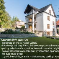 Apartamenty Watra – hotel w Rabce