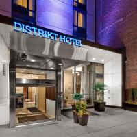 Distrikt Hotel New York City, Tapestry Collection by Hilton, hotel in Hell's Kitchen, New York