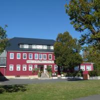 Zum Roten Hirsch im Grünen Wald、Saalfelder Höheのホテル