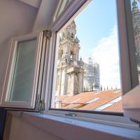 Hotel Praza Quintana, hotel en Santiago de Compostela