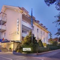 Hotel Kriemhild am Hirschgarten, hotel in Neuhausen - Nymphenburg, Munich