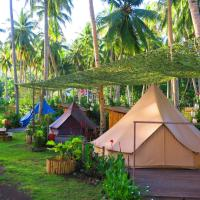 YSLA Beach Camp and Eco Resort, hotel in Mambajao