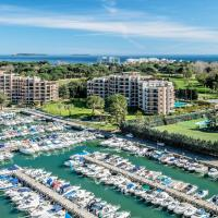 Cannes Marina Residence - Appart Hotel Mandelieu、マンドリュー・ラ・ナプールのホテル