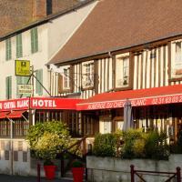 Auberge Du Cheval Blanc, hôtel à Crèvecoeur-en-Auge