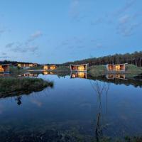 Relais du Silence Les Échasses Golf & Surf Eco Lodge、Saubionのホテル