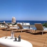 Thea Sunrise Luxury Villa with Heated Eco Pool, отель в городе Калитея (Родос)