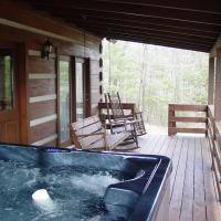 Serenity Ridge - Secluded Log Cabin on Knoll Top Setting near Boone, NC