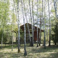Cozy remote cabin on a lakeshore, viešbutis mieste Kučiūnai