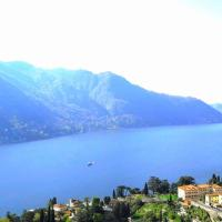 Casa Azzurra vista Lago Dani, hotell i Moltrasio