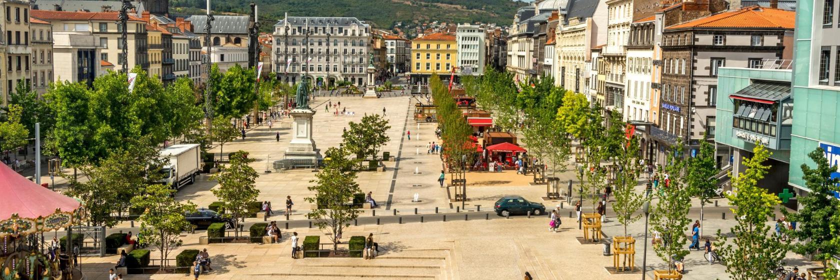 Die 10 besten Hotels in der Nähe von: Platz Jaude, in Clermont-Ferrand, Frankreich