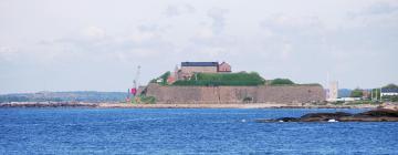 Hotell nära Varbergs fästning