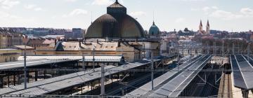 Plzeň hlavní vlakové nádraží – hotely poblíž