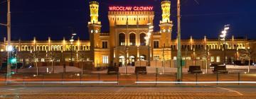 Hotele w pobliżu miejsca Stacja kolejowa Wrocław Główny