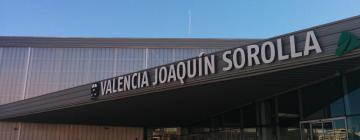 Bahnhof Joaquin Sorolla: Hotels in der Nähe