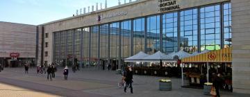 Центральный железнодорожный вокзал Риги: отели поблизости