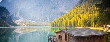 โรงแรมใกล้ทะเลสาบ Lago di Braies