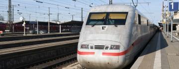 Главный железнодорожный вокзал Аугсбурга: отели поблизости