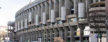Stadio Santiago Bernabeu: hotel