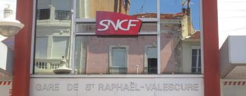 Hotels near Saint-Raphaël Valescure Train Station