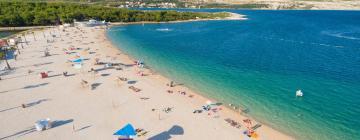 Pláž Zrče – hotely v okolí