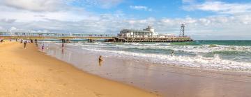 Hotels near Bournemouth Beach