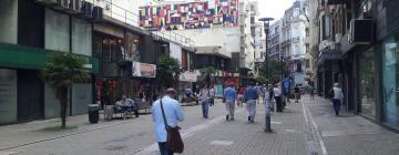 モンテビデオ旧市街周辺のホテル