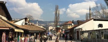 Hotels near Bascarsija Street