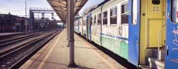 Центральный железнодорожный вокзал Лукки: отели поблизости
