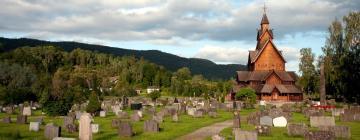 Hotels near Heddal stave church