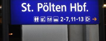 St. Pölten Hauptbahnhof: Hotels in der Nähe