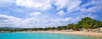 Hotels near Cala Bassa Beach