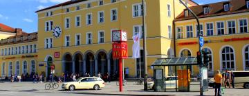 Hotels near Regensburg Central Station