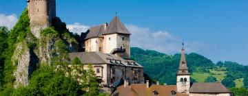 Hotels near Orava Castle