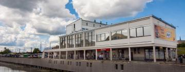 Viesnīcas netālu no apskates objekta Rīgas Starptautiskā autoosta