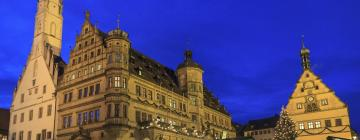 Hotels near Rothenburg Christmas Market