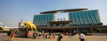 Железнодорожный вокзал Куньмин: отели поблизости