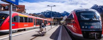 Hotels near Fuessen Train Station
