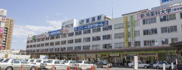 新潟駅周辺のホテル