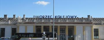 Hotele w pobliżu miejsca PKP Kalisz