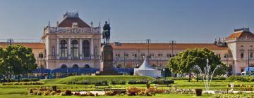 Центральный вокзал Загреба: отели поблизости