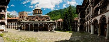 Hoteller nær Rila-klosteret
