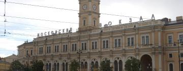 Московский железнодорожный вокзал: отели поблизости