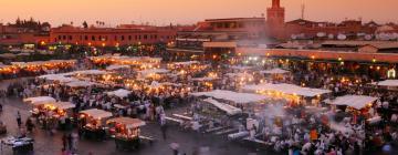 Marktplatz Djemaa el Fna: Hotels in der Nähe