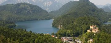 Hotels near Füssen and the King's Castles